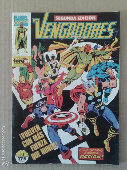 LOS VENGADORES Nº1 SEGUNDA EDICIÓN. CÓMICS FORUM. (Tebeos y Comics - Forum - Vengadores)