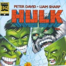 Cómics: HULK VOL. 2 Nº 7 - FORUM - IMPECABLE. Lote 146313121
