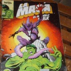 Cómics: LA MASA Nº 49. VOL. 1. EL INCREIBLE HULK. COMICS FORUM. MARVEL. Lote 58559645