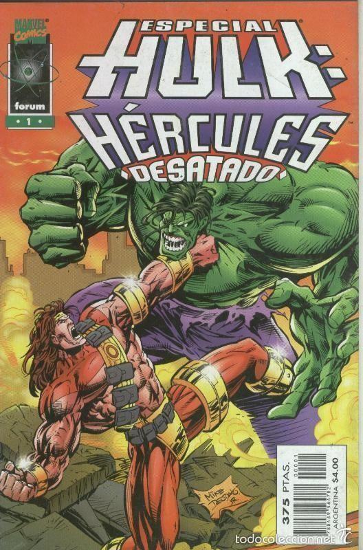 HULK ESPECIAL HERCULES DESATADO - FORUM - MUY BUEN ESTADO (Tebeos y Comics - Forum - Hulk)