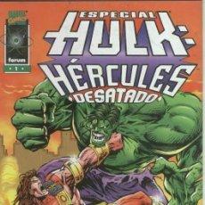 Cómics: HULK ESPECIAL HERCULES DESATADO - FORUM - MUY BUEN ESTADO. Lote 71586997