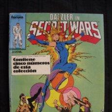 Comics - DAZZLER EN SECRET WARS - RETAPADO - DEL Nº 26 AL Nº 30 - FORUM. - 58583860