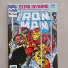 Cómics: IRON MAN EXTRA INVIERNO 1992 - POSIBLE ENVÍO GRATIS - FORUM - GUERRAS SUBTERRÁNEAS. Lote 58585060
