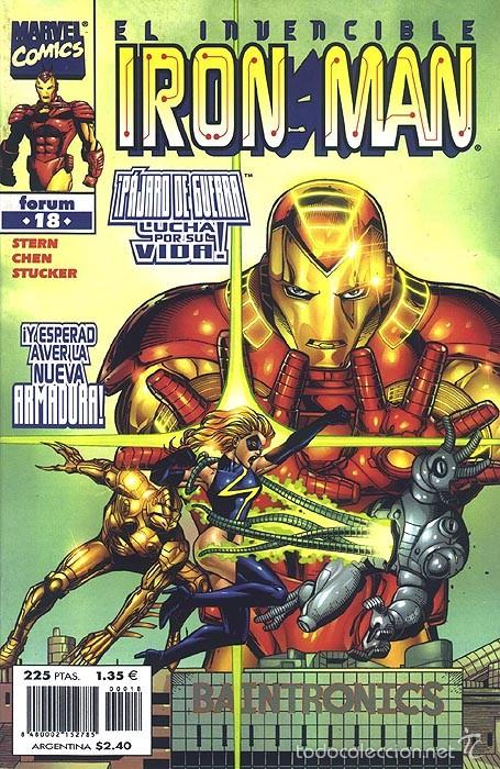 IRON MAN VOL. 4 Nº 18 - FORUM - IMPECABLE (Tebeos y Comics - Forum - Iron Man)