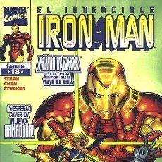 Comics: IRON MAN VOL. 4 Nº 18 - FORUM - IMPECABLE. Lote 143693376