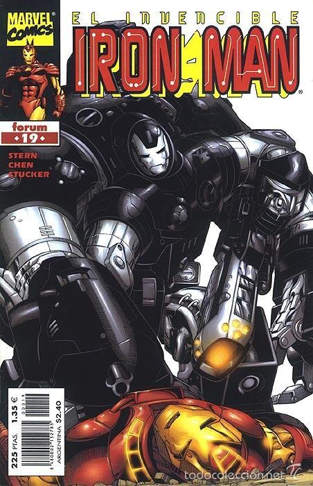 IRON MAN VOL. 4 Nº 19 - FORUM - IMPECABLE (Tebeos y Comics - Forum - Iron Man)