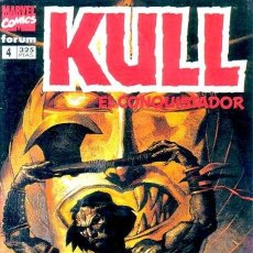 Cómics: KULL EL CONQUISTADOR Nº 4 - FORUM - IMPECABLE. Lote 111689948