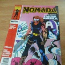 Cómics: NOMADA Nº 4 DE 4, COL. SERIES LIMITADAS, MARVEL, FORUM, 1992. Lote 58707461