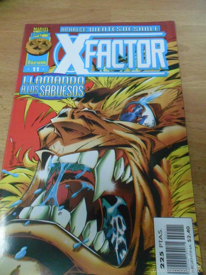 X-FACTOR VOL 2 Nº 11 / FORUM (Tebeos y Comics - Forum - Factor X)