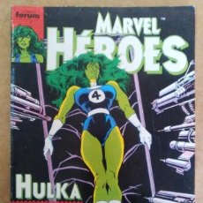 Cómics: MARVEL HEROES Nº 38 - FORUM. Lote 58762618