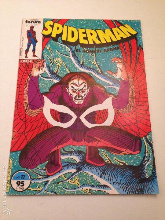 SPIDERMAN VOL 1 Nº 17. FORUM 1983. SAVIUK. BAGLEY. MILGROM. MCFARLANE. BUSCEMA. (Tebeos y Comics - Forum - Spiderman)