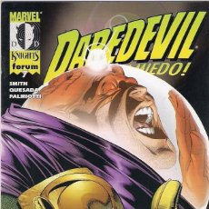 Cómics: MARVEL KNIGHTS DAREDEVIL Nº 7 - FORUM - IMPECABLE. Lote 58914810