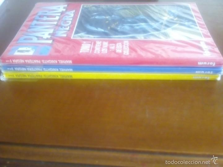 PANTERA NEGRA 3 TOMOS COMPLETA (Tebeos y Comics - Forum - Retapados)