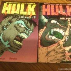Comics: HULK. MR. FIXIT 1 Y 2. PETER DAVID. JEFF PURVES. TOMO. RÚSTICA. 2º TOMO SEÑAL DE ESTAR DOBLADA PORTA. Lote 58962410