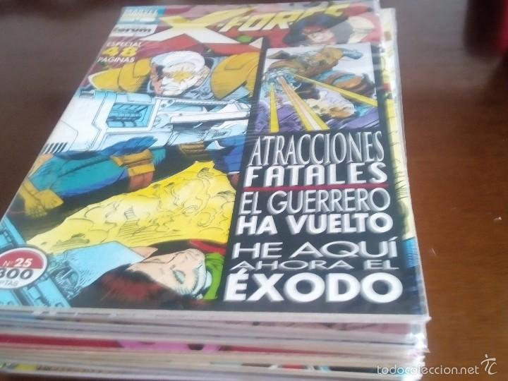 Cómics: X-FORCE COLECCION COMPLETA N-1 AL 42 - Foto 8 - 59238785