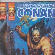 Cómics: LA ESPADA SALVAJE DE CONAN . SERIE ORO FORUM. Nº 6 Y 7.. VOLUMEN 2ª.. Lote 59508391
