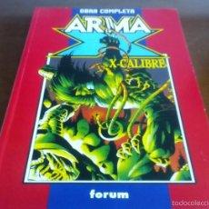 Cómics: ARMA X X CALIBRE OBRA COMPLETA. Lote 59850080