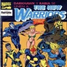 Comics : THE NEW WARRIORS VOL. 1 Nº 22 - FORUM - IMPECABLE. Lote 59851948