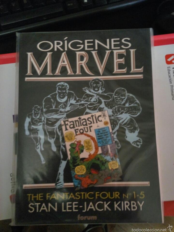 ORIGENES MARVEL NUM.1: LOS 4 FANTÁSTICOS FORUM (Tebeos y Comics - Forum - 4 Fantásticos)