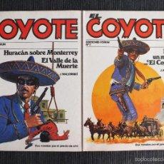 Cómics: EL COYOTE, NOVELA FORUM NUMEROS 1 Y 2. ESTADO: NUEVOS.. Lote 59918215