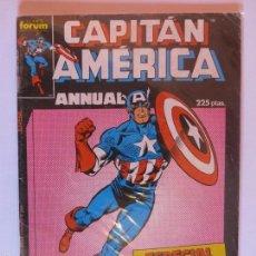 Cómics: CAPITAN AMERICA ESPECIAL PRIMAVERA 1987 V-I ANNUAL. Lote 60155187