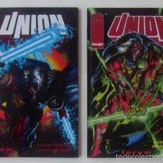 Cómics: UNION - Nº 9 Y 10. Lote 60284543