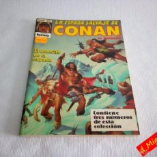 Cómics: LA ESPADA SALVAJE DE CONAN / SERIE ORO / FANTASÍA HEROICA / RETAPADO. Lote 56488904