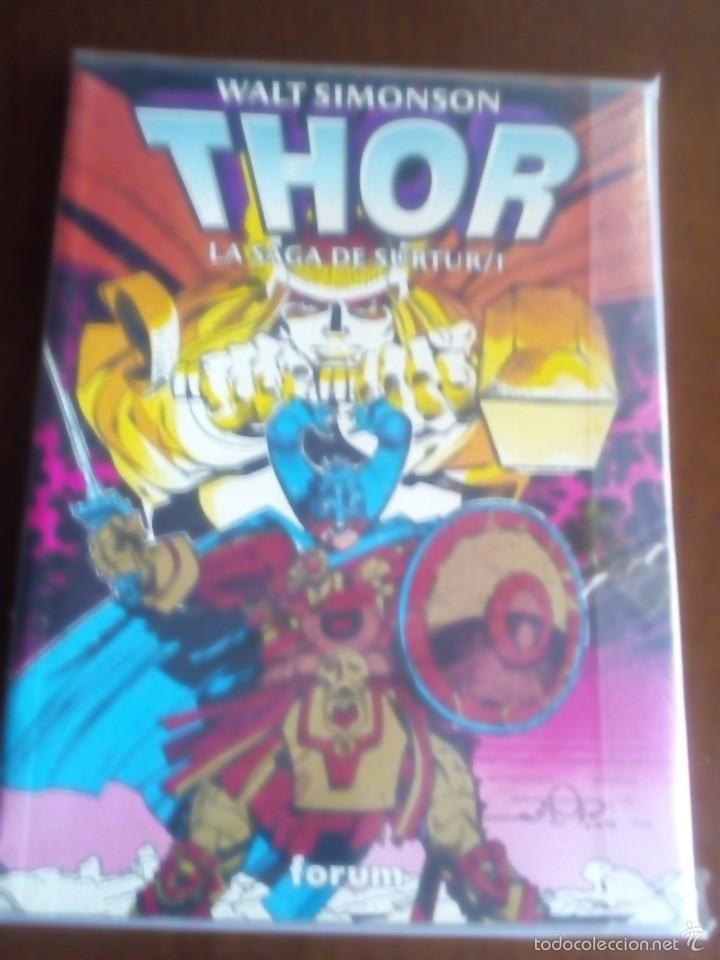 THOR LA SAGA DE SURTUR N-1 (Tebeos y Comics - Forum - Prestiges y Tomos)