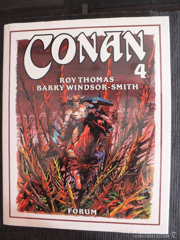 CONAN - TOMO 4 - ROY THOMAS & BARRY WINDSOR-SMITH - FORUM - (Tebeos y Comics - Forum - Conan)