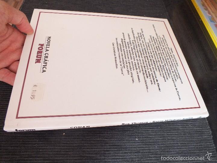 Cómics: CONAN - TOMO 4 - ROY THOMAS & BARRY WINDSOR-SMITH - FORUM - - Foto 2 - 60380923