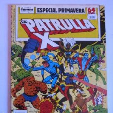 Cómics: PATRULLA X ESPECIAL PRIMAVERA 1989. Lote 60383575