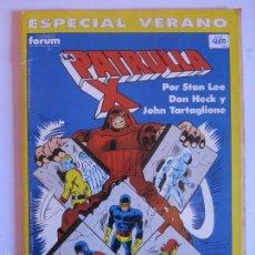 Cómics: PATRULLA X ESPECIAL VERANO 1990. Lote 60383655