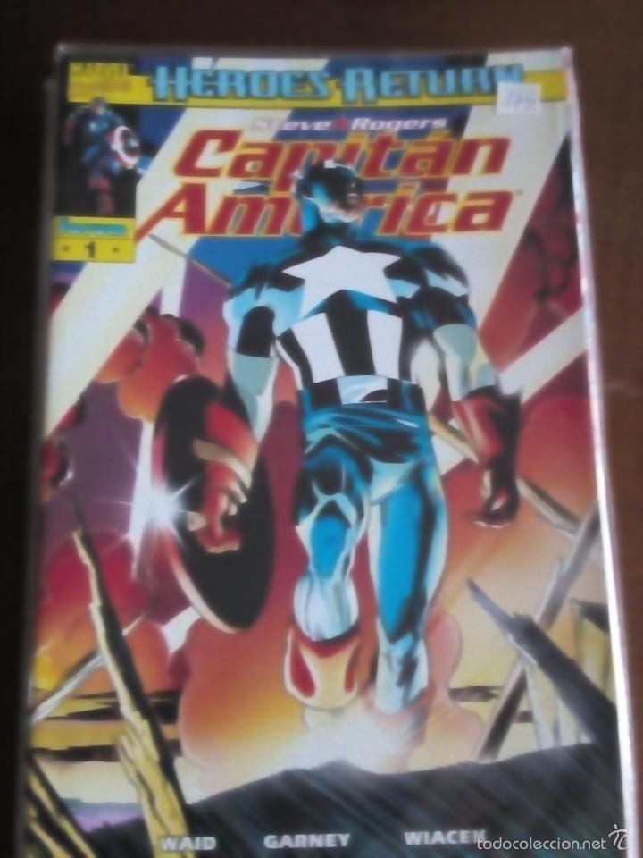 Cómics: capitan america n-1 al 27 COMPLETA - Foto 2 - 60535115