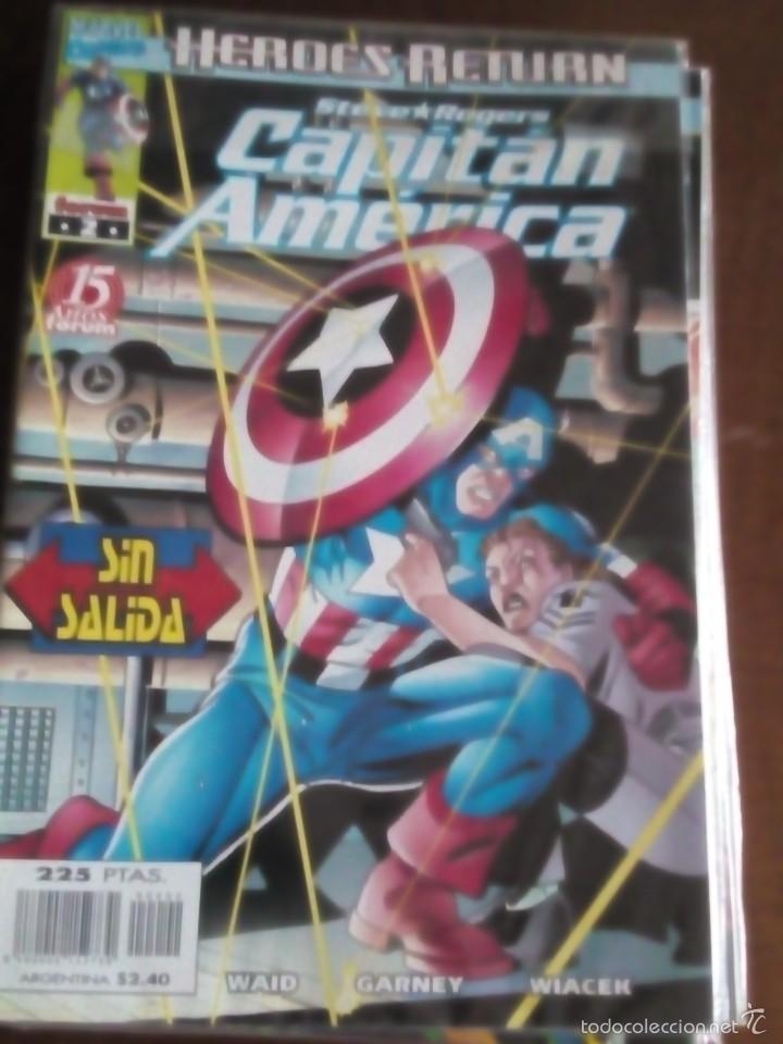 Cómics: capitan america n-1 al 27 COMPLETA - Foto 3 - 60535115