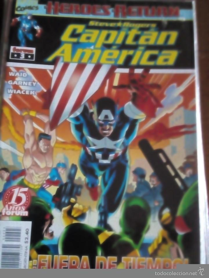 Cómics: capitan america n-1 al 27 COMPLETA - Foto 4 - 60535115