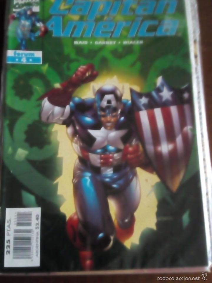 Cómics: capitan america n-1 al 27 COMPLETA - Foto 5 - 60535115