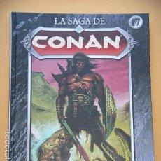 Cómics: LA SAGA DE CONAN, Nº 17, ED. PLANETA, ROBERT E. HOWARD. ERCOM C9. Lote 60782263