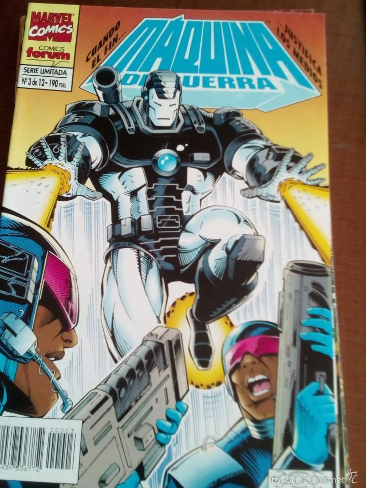 MAQUINA DE GUERRA N-3 DE 12 (Tebeos y Comics - Forum - Iron Man)
