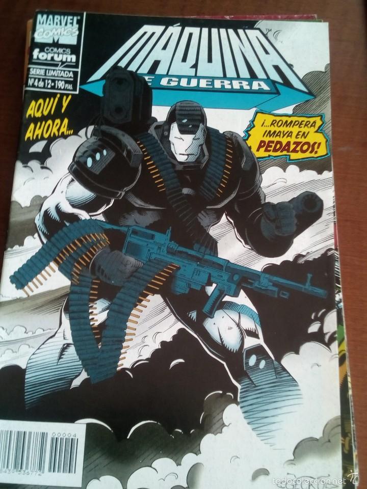 MAQUINA DE GUERRA N-4 DE 12 (Tebeos y Comics - Forum - Iron Man)