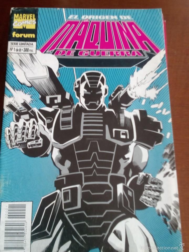 MAQUINA DE GUERRA N-1 AL 6 COMPLETA (Tebeos y Comics - Forum - Iron Man)