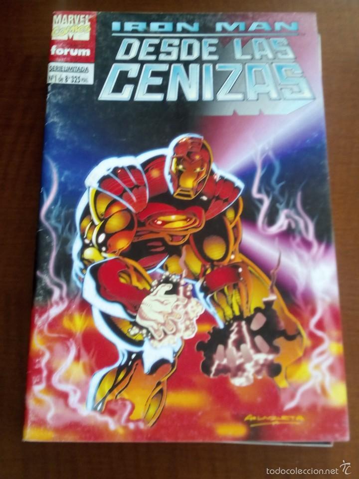 IRON MAN DESDE LAS CENIZAS N-1 DE 8 (Tebeos y Comics - Forum - Iron Man)