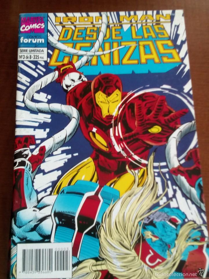 IRON MAN DESDE LAS CENIZAS N-3 DE 8 (Tebeos y Comics - Forum - Iron Man)