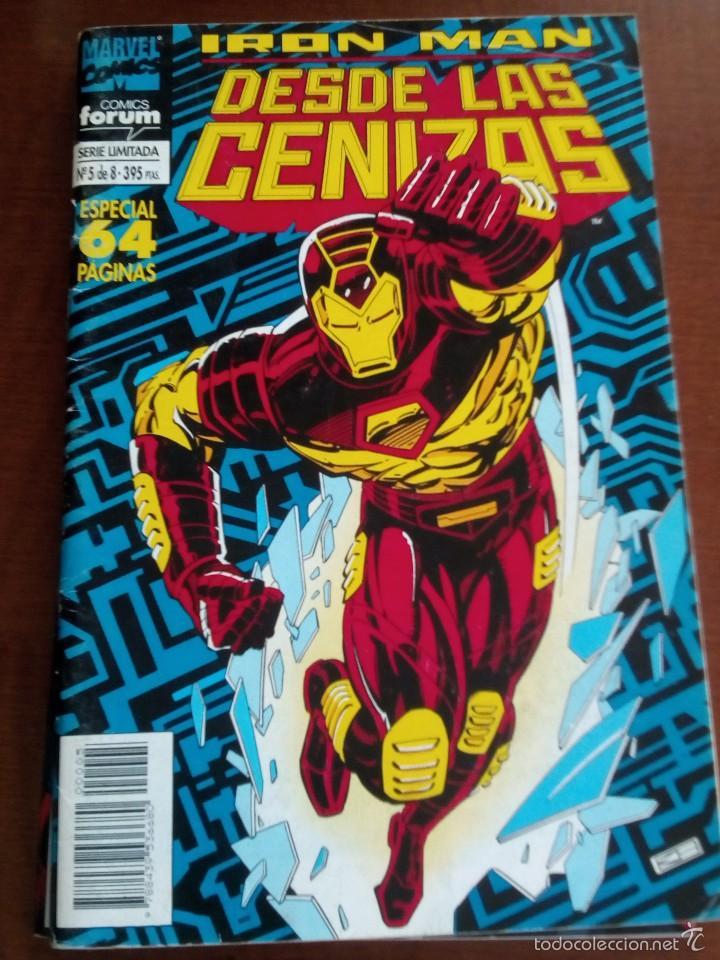 IRON MAN DESDE LAS CENIZAS N-5 DE 8 (Tebeos y Comics - Forum - Iron Man)