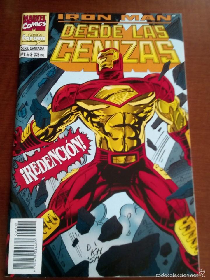 IRON MAN DESDE LAS CENIZAS N-8 DE 8 (Tebeos y Comics - Forum - Iron Man)