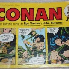 Cómics: CONAN Nº1 (LOS DAILY-STRIP DE ROY THOMAS Y JOHN BUSCEMA). Lote 60989923