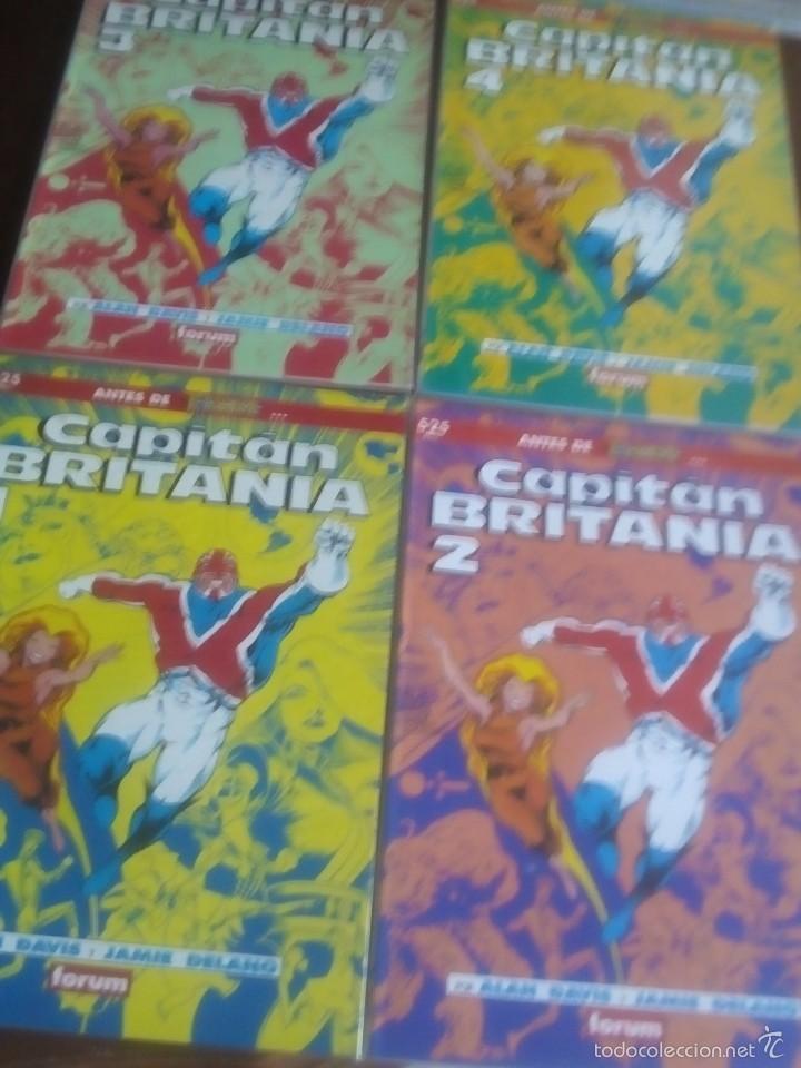 CAPITAN BRITANIA N-1 AL 4 COMPLETA EN PRESTIGIOS (Tebeos y Comics - Forum - Prestiges y Tomos)