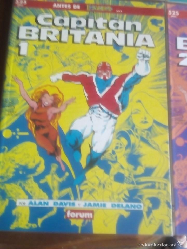 Cómics: CAPITAN BRITANIA N-1 AL 4 COMPLETA EN PRESTIGIOS - Foto 2 - 61117107