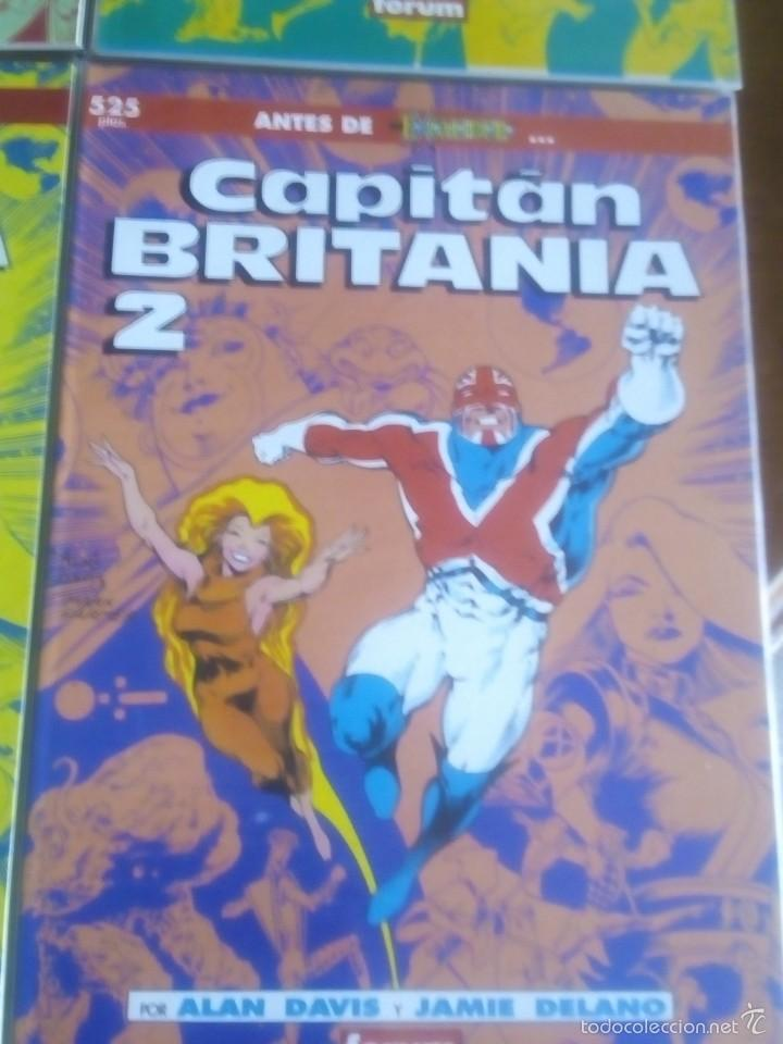 Cómics: CAPITAN BRITANIA N-1 AL 4 COMPLETA EN PRESTIGIOS - Foto 3 - 61117107