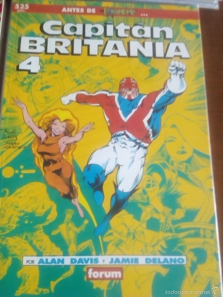 Cómics: CAPITAN BRITANIA N-1 AL 4 COMPLETA EN PRESTIGIOS - Foto 5 - 61117107
