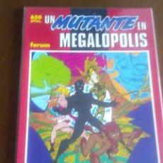 Cómics: UN MUTANTE EN MEGALOPOLIS N-27 COLECCION PRESTIGIO. Lote 61117631